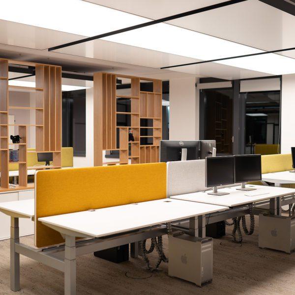 Referenz: sblum GmbH Bürobereich
