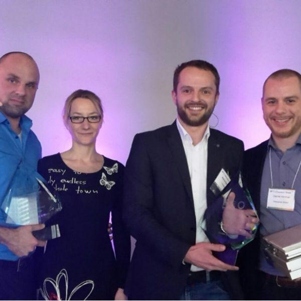 Intrapore und interpanel Award San Francisco