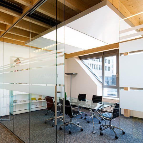 ABW Architekten Heiz Kühldecke mit Licht und Akustik von interpanel 01 600x600 - ABW Architekten Heinz Binder + Partner