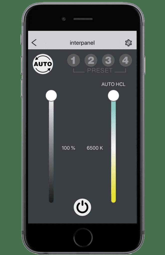 App Home Screen 662x1024 - Biologisch wirksames und circadianes Licht am Arbeitsplatz
