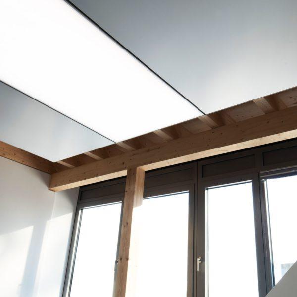 ABW Architekten - Heiz-Kühldecke mit Licht und Akustik von interpanel 06