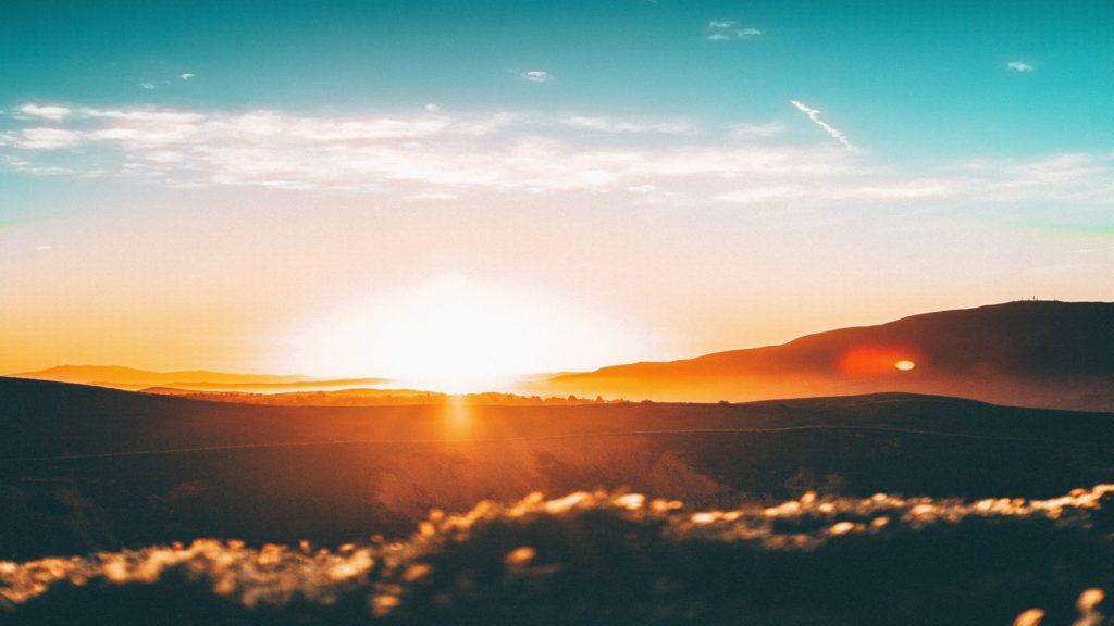 Sonnenaufgang 1024x576 - Biologisch wirksames und circadianes Licht am Arbeitsplatz