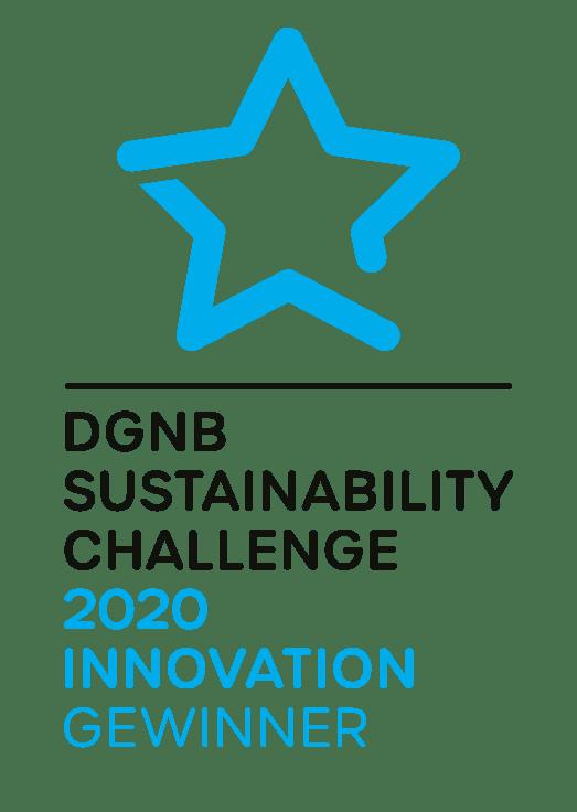 SC Logo V 2020 Innovation Gewinner - interpanel ist ein Gewinner der DGNB Sustainability Challenge 2020!
